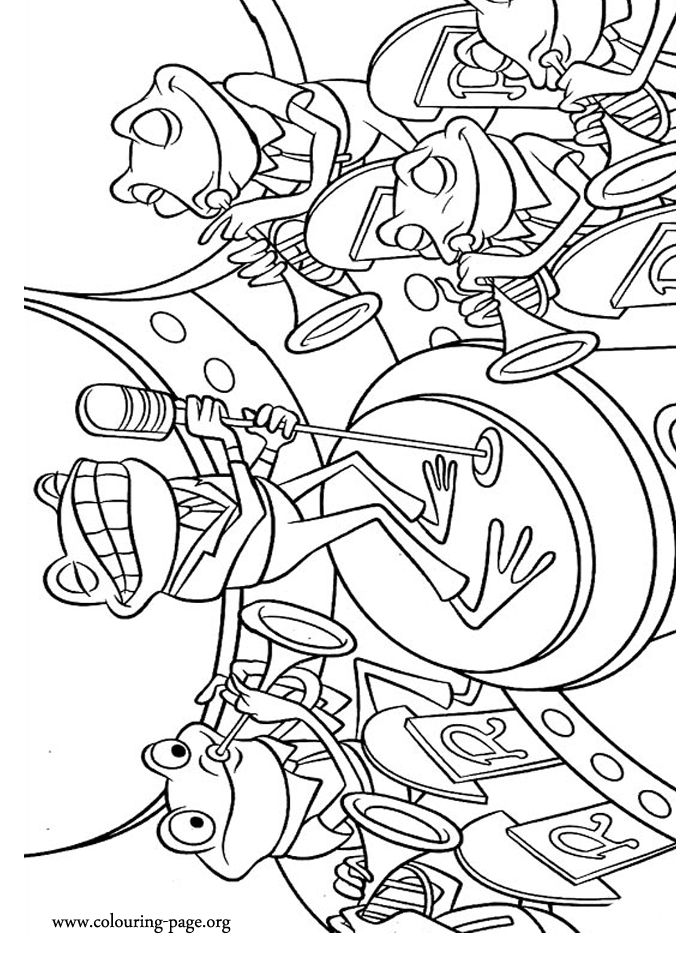 wood frog coloring pages - photo#50