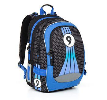 Sportowy plecak CHI 798 D - Blue dla chłopca od 2 do 6 klasy podstawówki. Wziuuuum!
