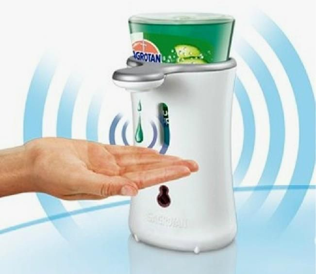 Germany S Automatic Induction Hand Sanitizer And Extruder Hand