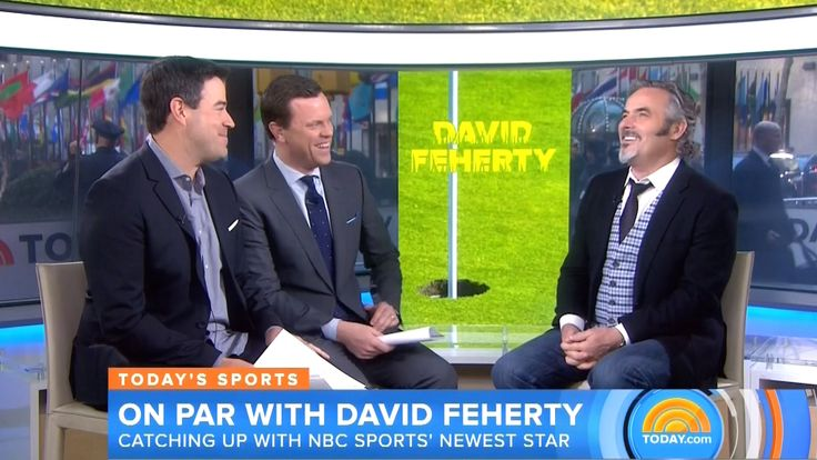 David Feherty talks Tiger Woods and state of the game on NBC's Today Show. For more from Today visit Today.com