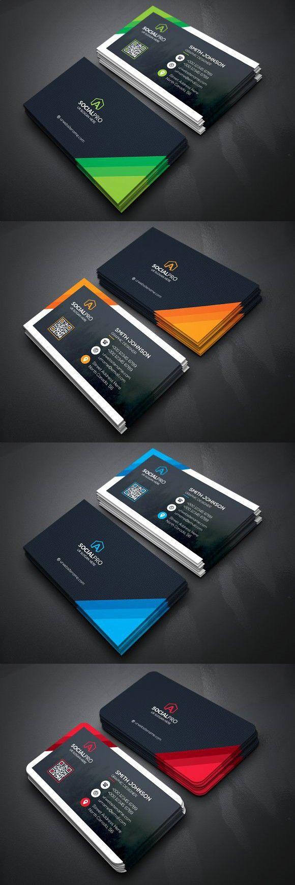 Professional Business Card Creative Business Card Templates Design De Cartao Cartao De Visita Carta