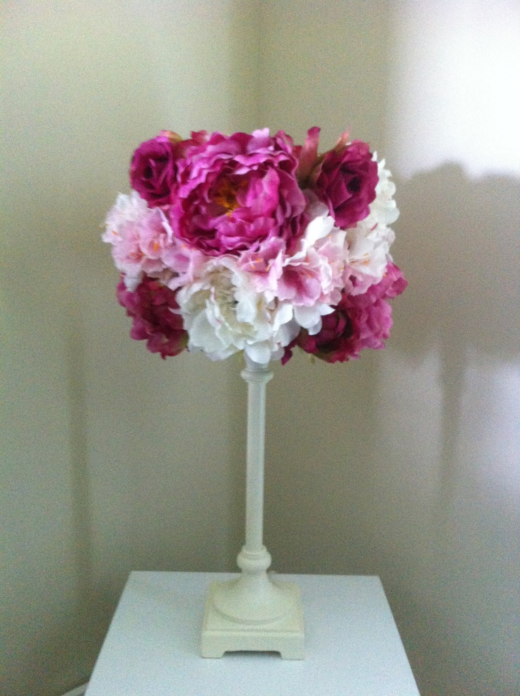 Flower Lamp Shade : Best images about girl lamps on pinterest tissue