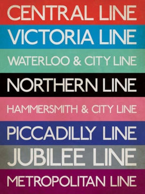 London Underground lines...aka The Tube