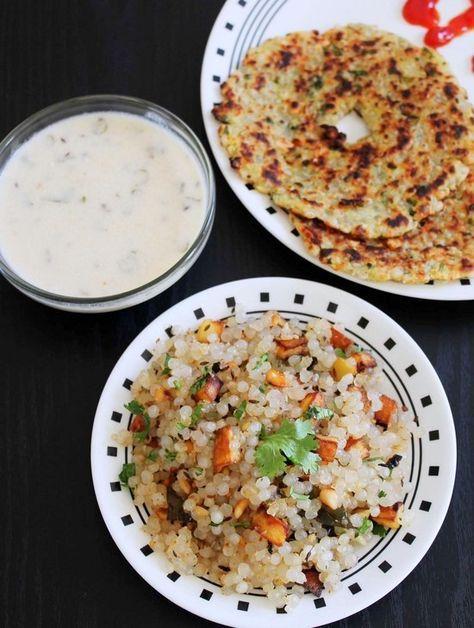 Sabudana Khichdi Recipe with step by step photos. It is usually made during fasting days like Navratri, Mahashivratri, Ekadashi or Chaitra Navratri.