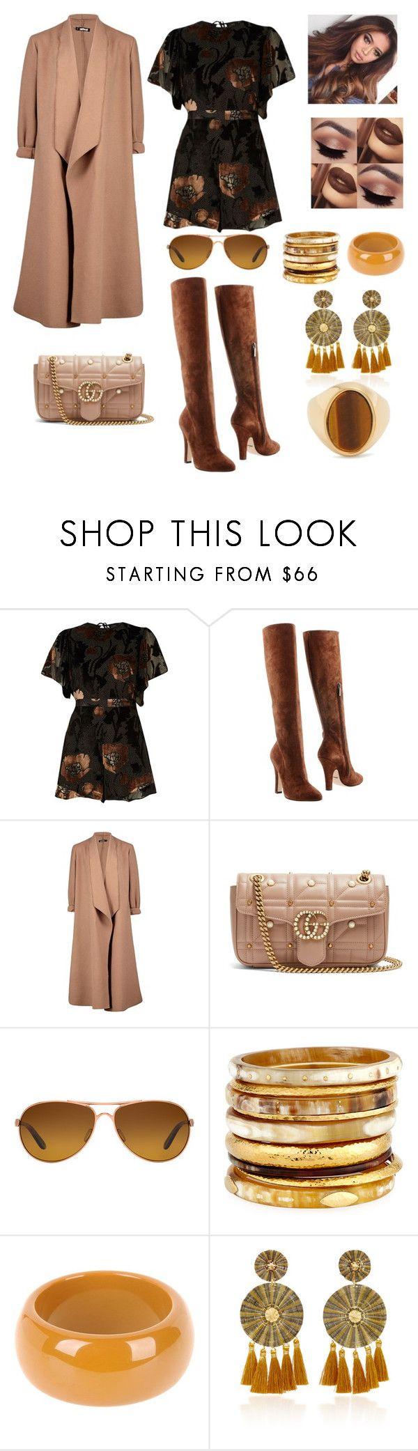 """Untitled #651"" by ericap61720 ❤ liked on Polyvore featuring River Island, Dolce&Gabbana, Boohoo, Gucci, Oakley, Ashley Pittman, Dsquared2, Mercedes Salazar and Chloé"