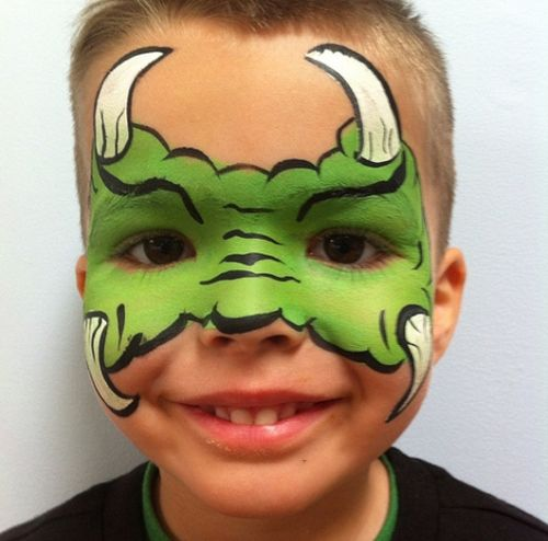 kids face painting designs   25 Artistic Halloween Face Painting Ideas for Kids