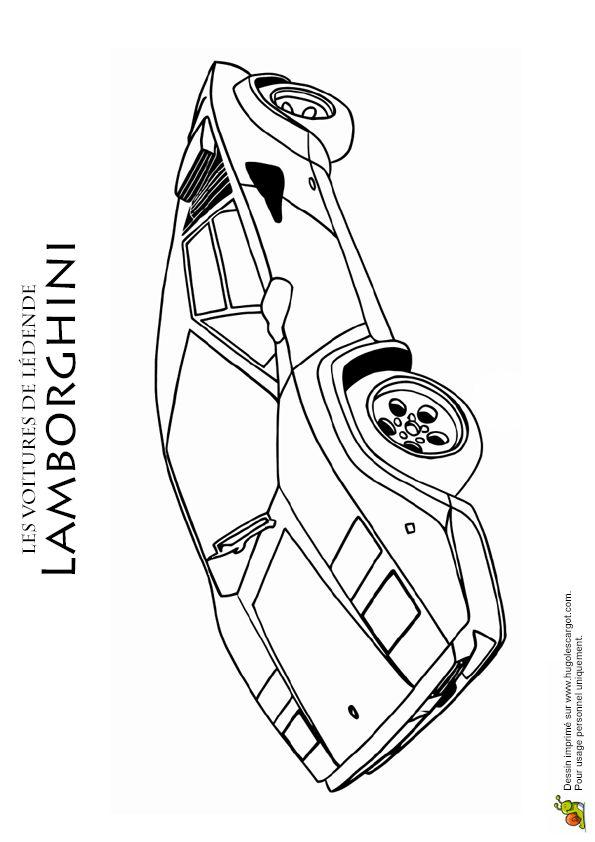 Les 104 meilleures images propos de coloriages de - Lamborghini a colorier ...