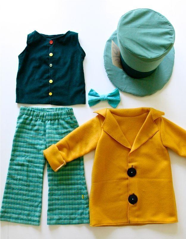 disfraz de sombrerero loco de alicia en el pais de las maravillas
