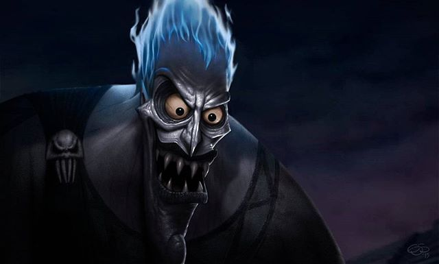 """posted by gaming1empire via instagram :   Zeus: """"So, Hades, you finally made it. How are things in the underworld? """" ☈ Hades: """"Well, they're just fine. You know, a little dark, a little gloomy. And, as always, hey, full of dead people. What are you gonna do?"""" 💀 《Hades》by Eduardo Domínguez S…"""