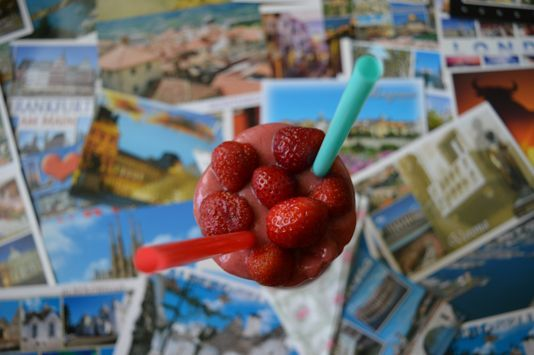 Strawberry Summer Smoothie or Nana Ice-Cream