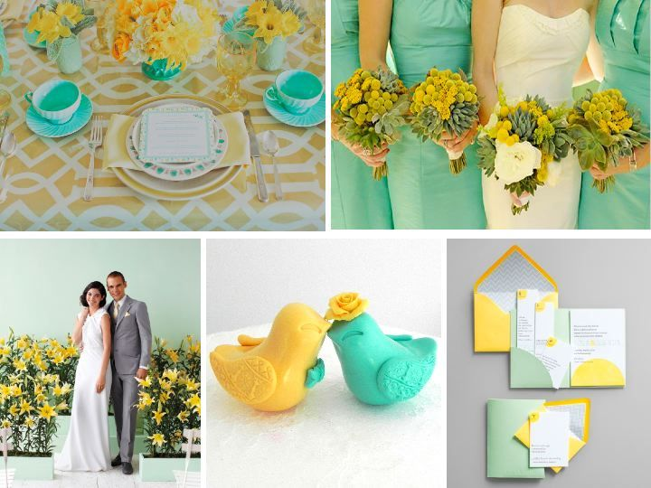 Mint Green Wedding Trends