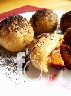 Špaldovo-bramborové knedlíky se švestkami