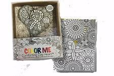 Color Me Comforting Clay Heart w/Greeting Card-Tif