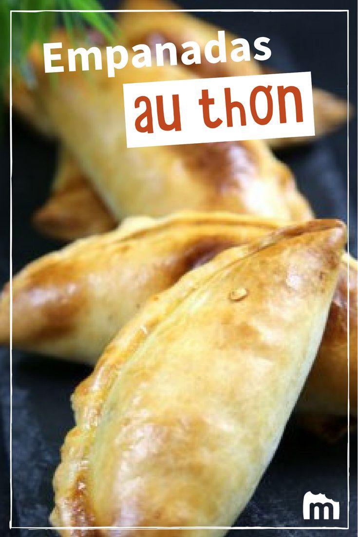 Empanadas au thon /// #empanadas #thon #marmiton #recette #argentine #cuisine