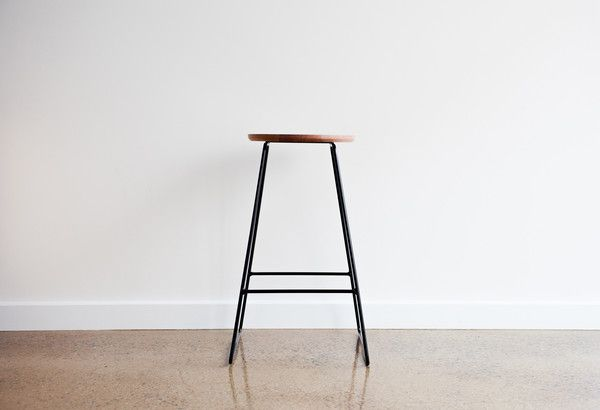 Backless stool made in Adelaide