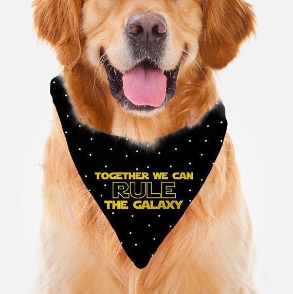 made to order Star Wars Dog Bandana