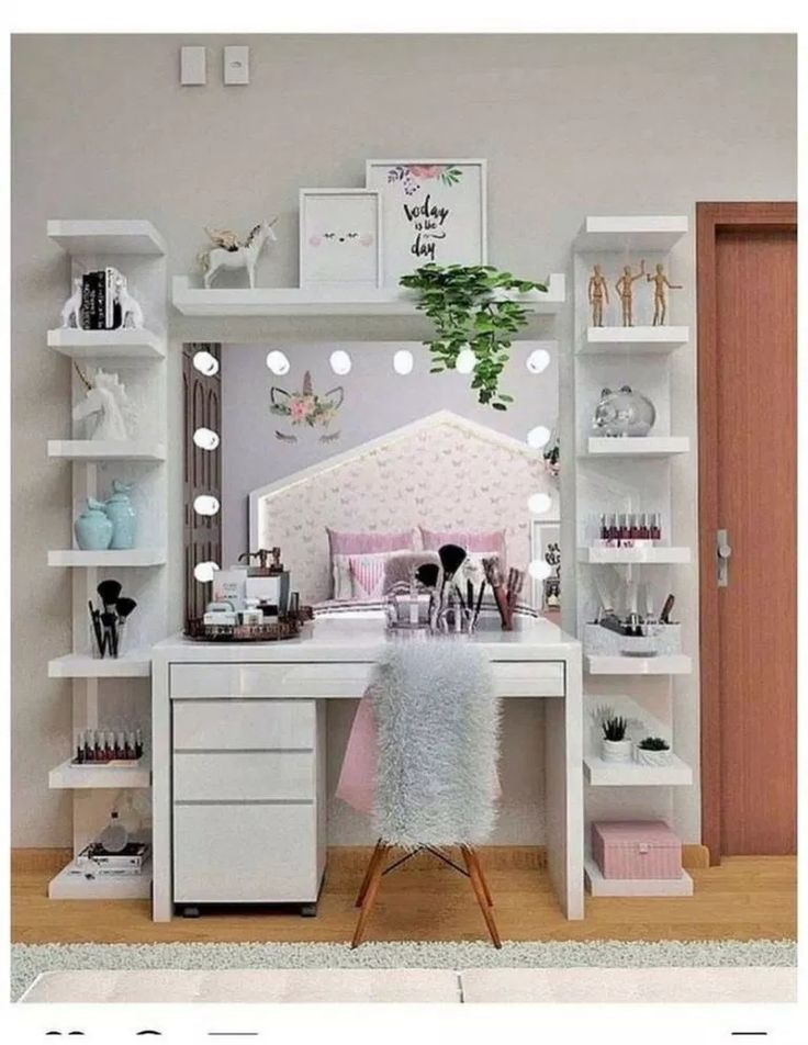 30 Awesome Teen Girl Bedroom Ideas That Are Fun And Cool #teengirlbedroom #aweso…