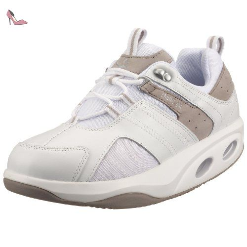 AuBioRiG Balance Step Promo 9100120, Chaussures Marche nordique femme - Rouge-TR-F4-45, 36.5 EUCHUNG SHI