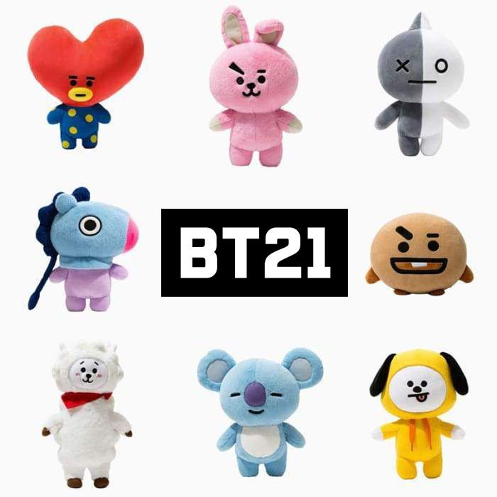 BTS TATA-RJ biscuits All-inclusive plush slippers Soft Warm Indoor Slippers new