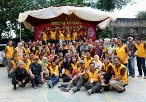 Reuni akbar SMA KAPIN Angkatan 1990,  melepas tawa dan haru di dalam rindu