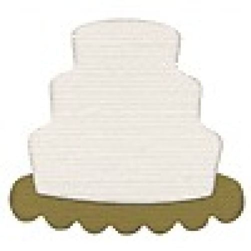 "Quickutz ""KS-0950"" Doublekutz Die ""Wedding Cake"""