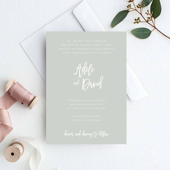 Best 25+ Wedding invitation templates ideas on Pinterest Diy - wedding template