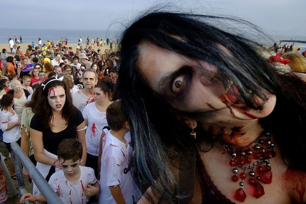 A growing number of colleges like Monmouth University bring zombie studies to life. How do zombies help students in learning?