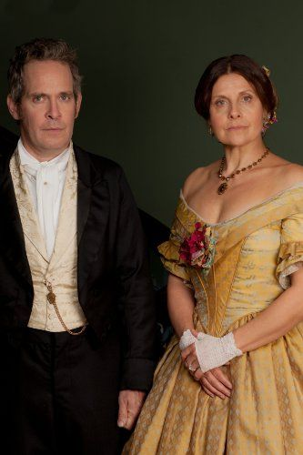 Rebecca Front and Tom Hollander in Doctor Thorne (2016)