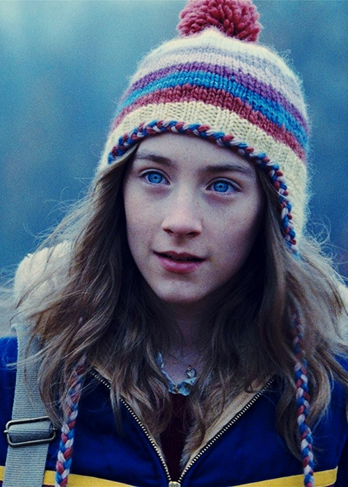 Saoirse Ronan in The Lovely Bones (2009). This film made me feel ill. Great performances but horrible to contemplate.