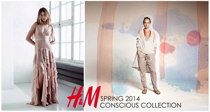 Colección Conscious 2014 H&M. Moda Sueca