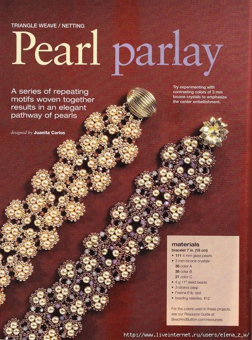 91 best beading books images on pinterest bead jewelry bead tons of free tutorials on this site fandeluxe Images