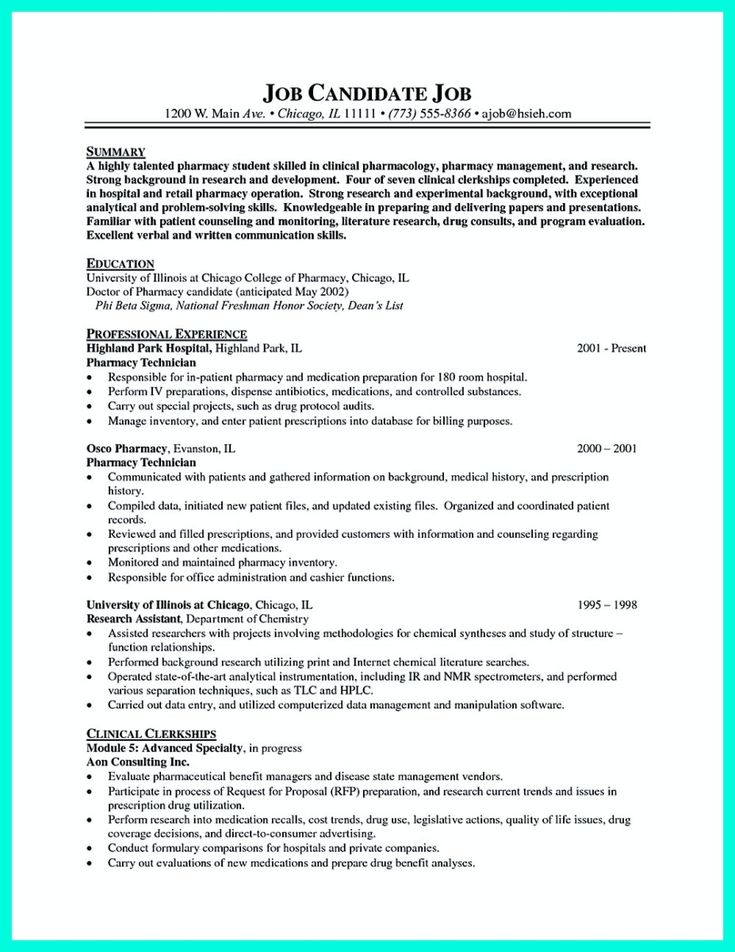 awesome How to Make Cable Technician Resume That Is Really Perfect - pharmacy tech resume objective