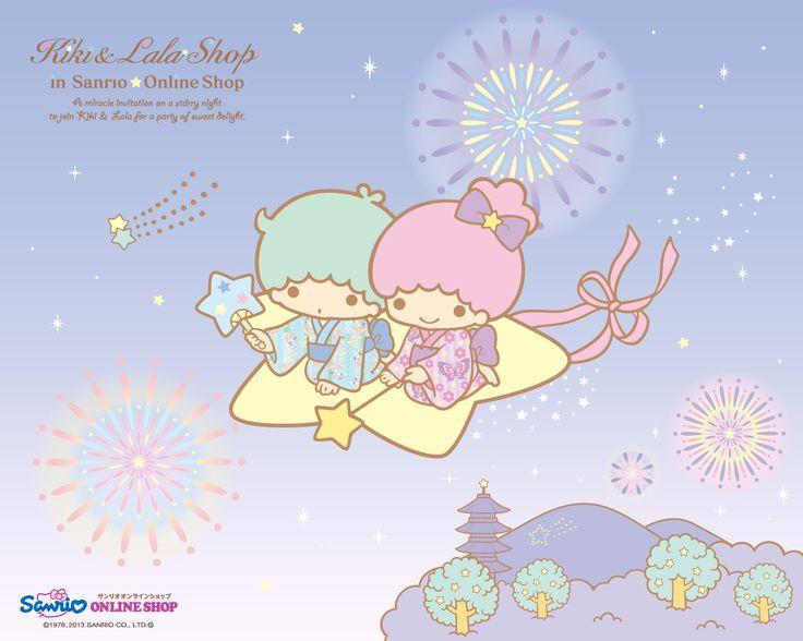 【2013】★Little Twin Stars★ | Little Twin Stars ♥ Wallpaper ... Little Twin Stars Wallpaper 2013