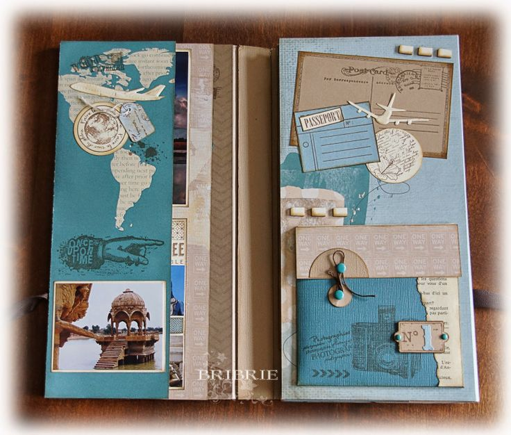 Reisetagebuch Indien Travel Journal scrapbooking                                                                                                                                                                                 Plus