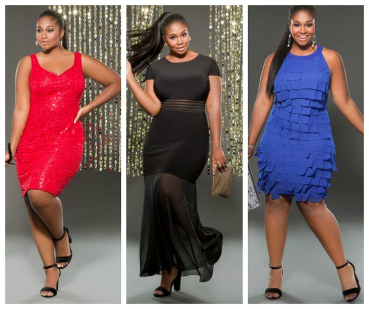 Ashley Stewart Comes Through With A Sexy Plus Size Holiday Dress Collection