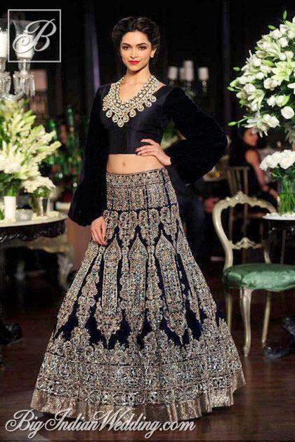 Deepika Padukone for Manish Malhotra at Delhi Couture Week 2013