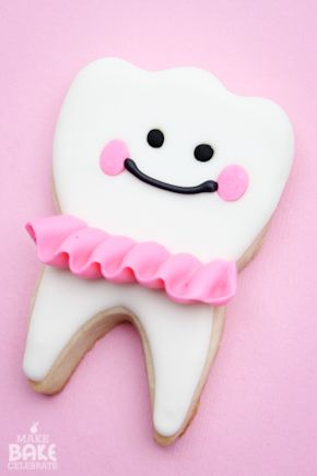 MBC: Tooth Fairy Girl Cookies!!