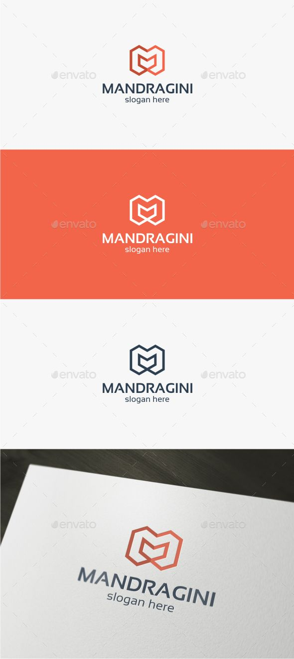 Mandragini Letter M  Logo Template — Vector EPS #business #web • Available here → https://graphicriver.net/item/mandragini-letter-m-logo-template/14144372?ref=pxcr