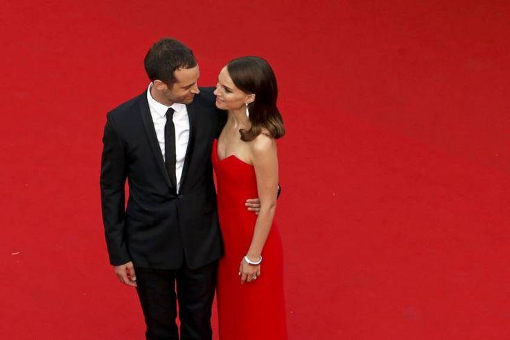 La actriz Natalie Portman y su esposo el coreógrafo Benjamin Millepied. FOTO Reuters