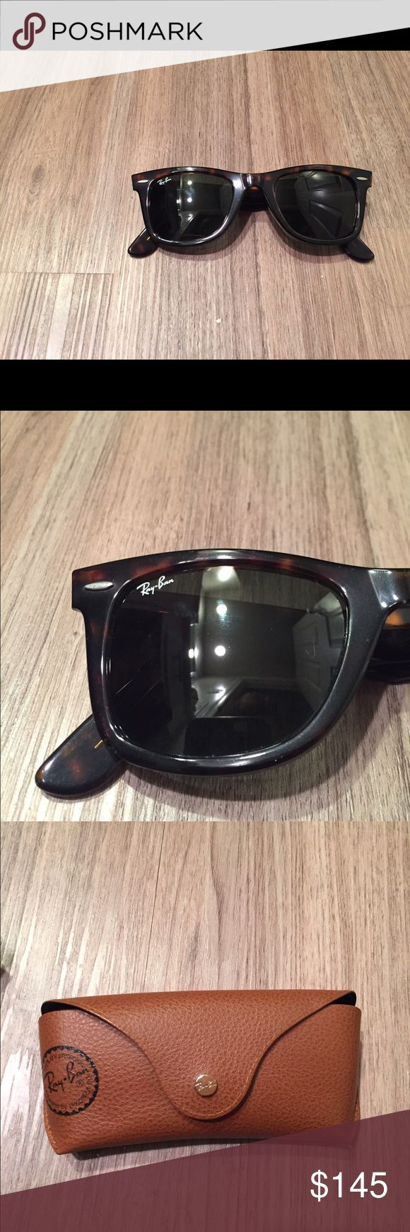 Ray Ban Wayfarer Tortoise shell Ray-Ban Accessories Sunglasses