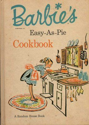retro Barbie cookbook
