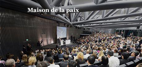 Maison de la Paix, IHEID Genève