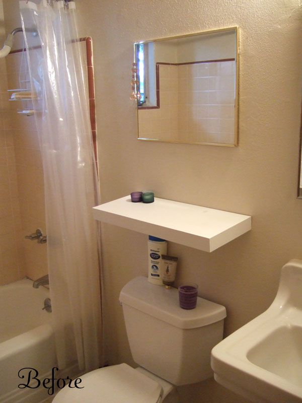 Painting a small bathroom