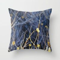 Outback Flowers Throw Pillow
