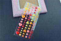 Zucchero Sprinkles Self-adesivo Smalto Adesivo Resina per Scrapbooking/Artigianato DIY/Card Making Decorazione