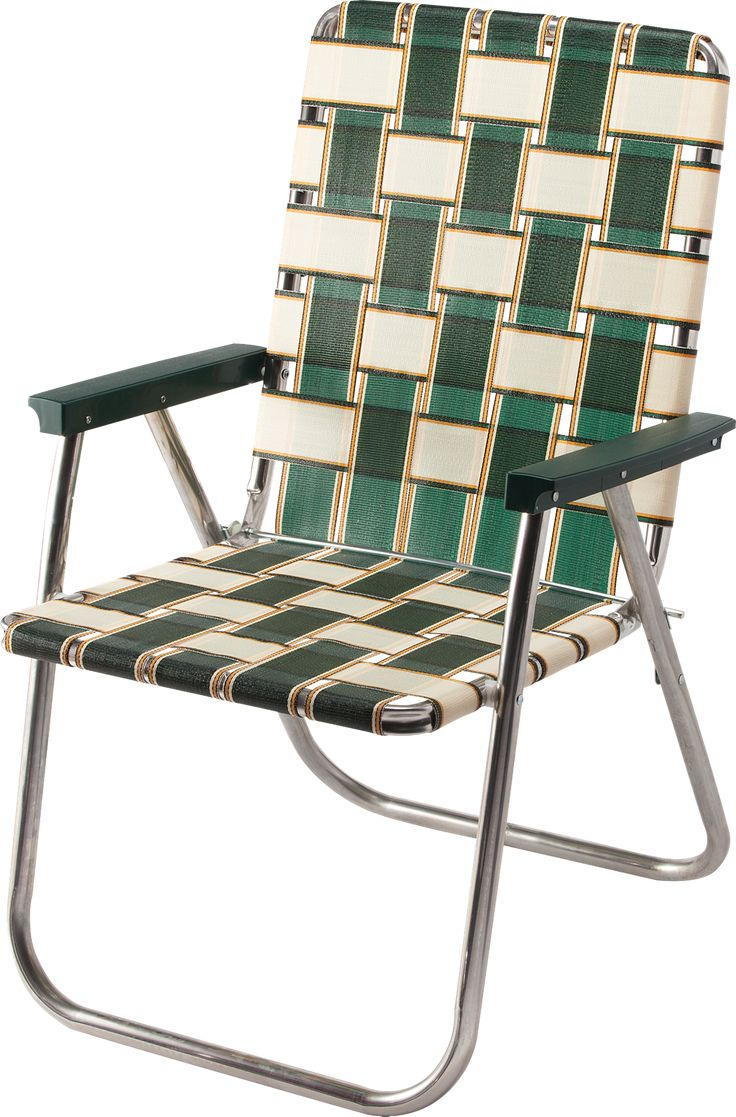 Deluxe Webbed Folding Lawn Chair in 2020 Lawn chairs
