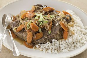 Asian-Style Pot Roast with Reynolds Oven Bags #ad  #ReynoldsKitchens #CleverGirls @reynoldswrap