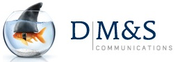 Persoonlijk vind ik dat DM communications een heel sterk logo (de vis heeft een haaivin gekregen) heeft doordat deze aansluit bij de slogan (Power up your brand).