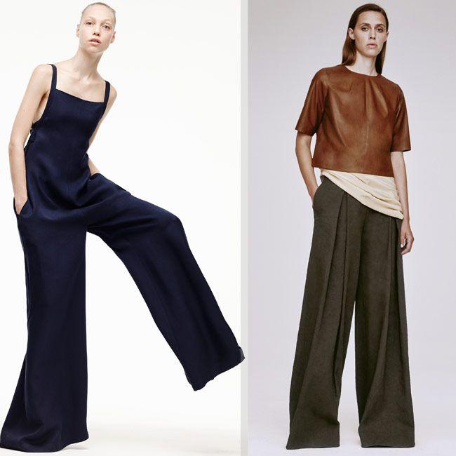 Модные брюки ультра макси - новый тренд 2016. Эффектные, невероятно красивые брюки из последних модных коллекций в модном журнале Fashion Woman Media.