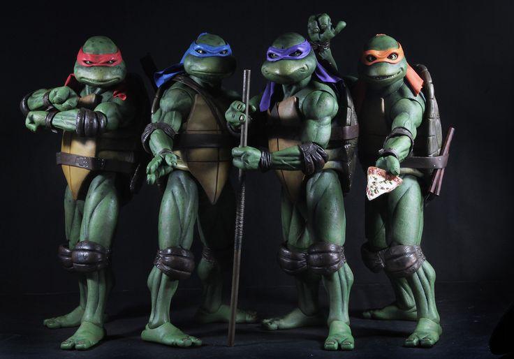 Pre-Orders Open For NECA's Teenage Mutant Ninja Turtles (1990 Movie)